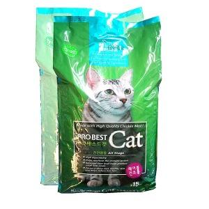 고양이사료/프로베스트캣15kg/캣츠아이/캐츠랑/태비