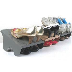 더블형 슈즈랙 10개 신발장 정리대 신발정리대 선반