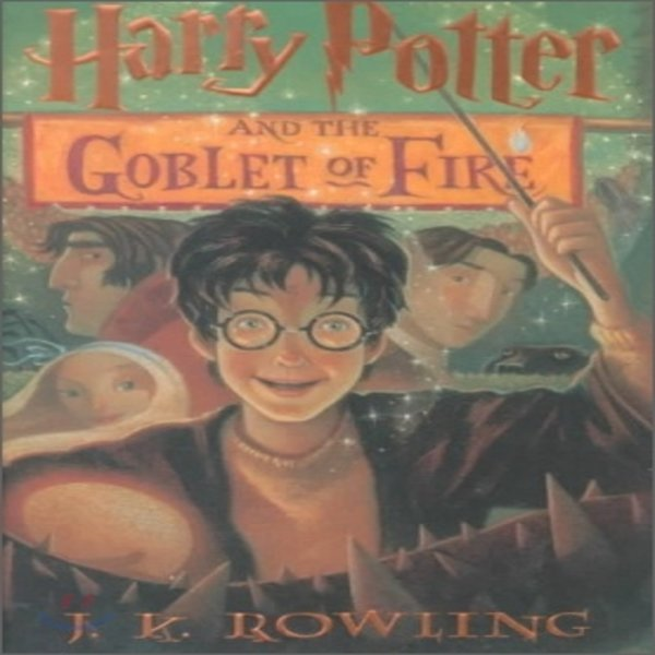 Harry Potter and the Goblet of Fire : Book 4  J  K  Rowling  Mary GrandPre