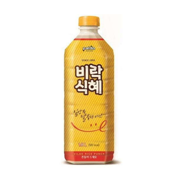 팔도 비락식혜/수정과 택1 1.8L (8펫) 무료배송
