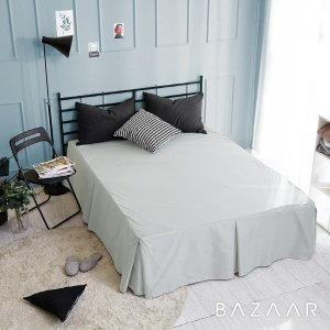 바자르  더라인 호텔식 침대스커트(Q)