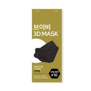 국내생산 브이비 MB필터 마스크 블랙 100매 (10x10)