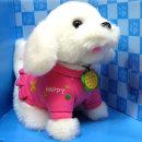 음성인식 말하는 마르티즈 강아지인형 장난감