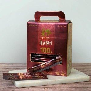 롯데헬스원 황작 홍삼젤리 15gx100포