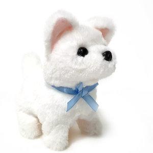 움직이는 강아지인형 진돗개 장난감 작동완구 봉제