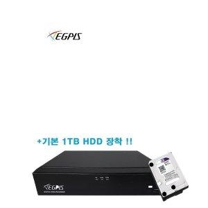 고화질 500만 화소 WQHDVR-5004HS 4채널녹화기+1TB