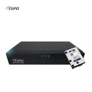 고화질400만 EHR-Q400QHDS 4채널 CCTV녹화기+1TB HDD