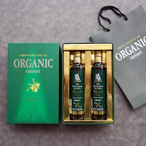 유기농 올리브오일 명절 선물세트 (500ml 2병) 구성