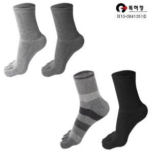 면100특허 무좀습진 남자 여성 겨울 발가락양말 10족