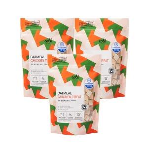 국내산 닭고기 100% 캣밀 치킨트릿 다이어트 120g x 3