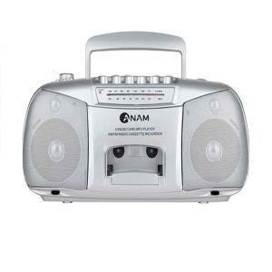 아남 포터블카세트 PA-711 라디오 USB재생 테이프 MP3