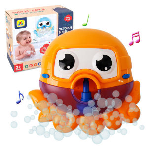 버블 문어 목욕놀이 -오렌지(596)