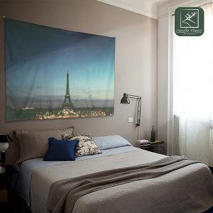 디어트리 대형 패브릭포스터 에펠탑의 밤