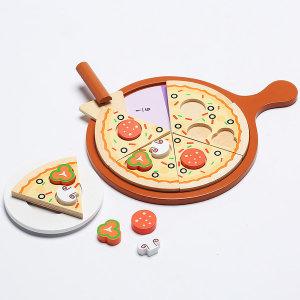 NAMOO원목 피자 만들기 /북유럽스타일 장난감 주방놀이