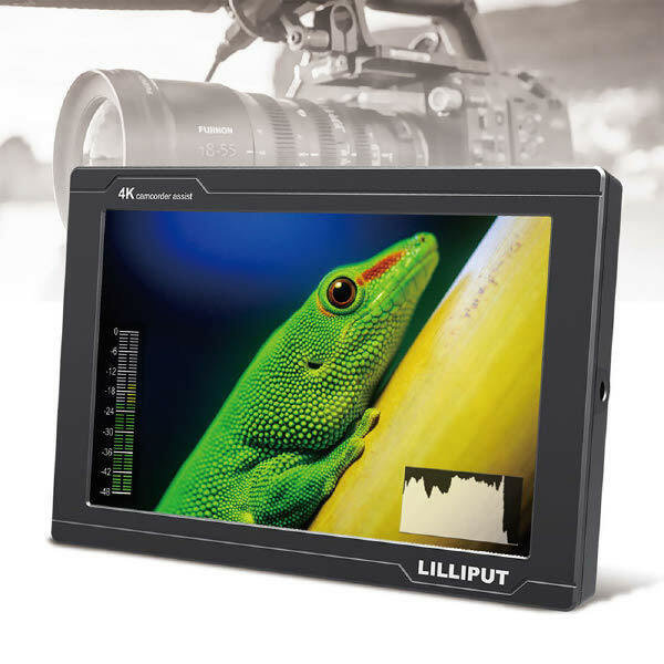 (현대Hmall)I-ON 릴리풋 7인치 4K 3G SDI 프리뷰 모니터 FS7