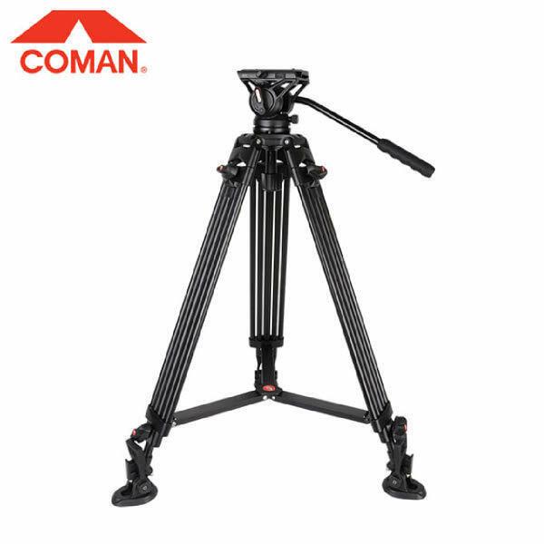 (현대Hmall) COMAN  코만 비디오 삼각대 키트 DX16 Q5S (알루미늄재질)