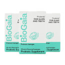 3개 BioGaia 아기 유산균 프로덴티스 민트 오랄 프로바이오틱 30 로젠지 빠른직구