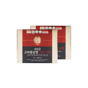 6년근 고려홍삼정 365스틱 홍삼 홍삼스틱 2박스 선물용