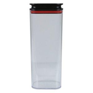 꾹꾹이 투명 냉장고정리용기 사각 밀폐용기 (1680mlx3P)