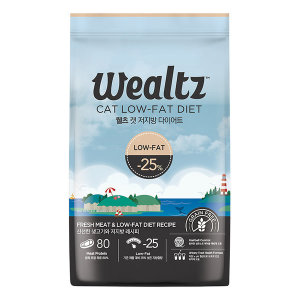 웰츠 캣 다이어트2.1kg 고양이사료 헤어볼 유리너리