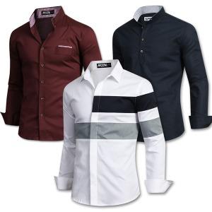 봄신상 셔츠 남방 스판 와이셔츠 남자 남성 캐주얼