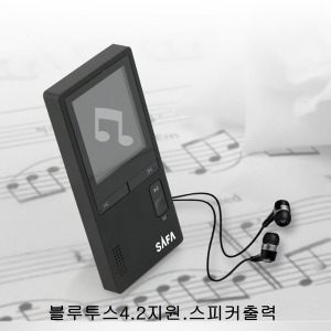 MP3 사파 SB1000 8GB 블루투스 MP4 player FM라디오