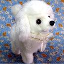 움직이는 푸들 강아지인형 장난감 작동완구 봉제인형