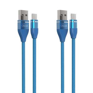 칼리아 C타입 고속 충전케이블 삼성휴대폰 1+1 1M