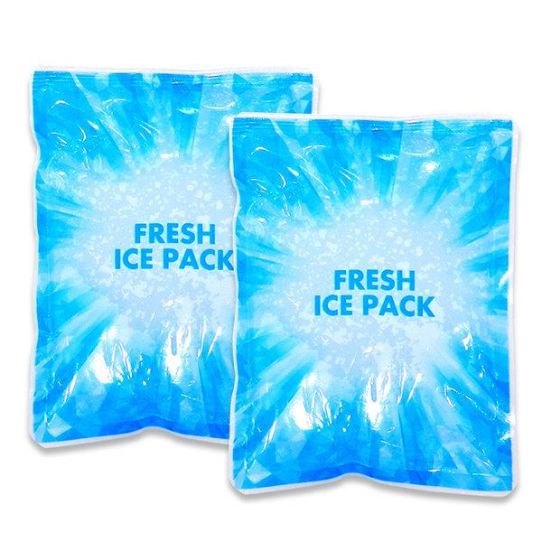 15x20 60개 프레쉬 얼음 보냉 쿨 젤 휴대용 아이스팩