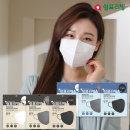 쉼표리빙 KF94 화이트 황사 미세먼지 마스크100매 대형