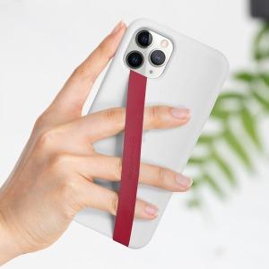 실리콘 핑거 스트랩 핸드폰 휴대폰 폰 스마트폰 줄 1+1