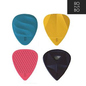 Rombo Picks 롬보 기타피크 믹스 컬러 (4개세트)