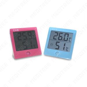 디지털온습도계 온도계 습도계 TE-301블루 벽걸이 탁상
