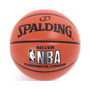 스팔딩 74-556Z NBA 실버 농구공