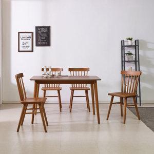 4인식탁 원목 식탁 세트 홈카페 테이블 의자 썸원