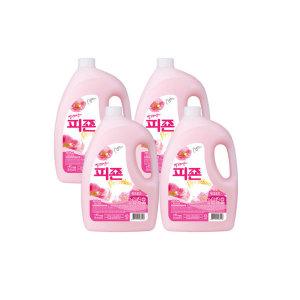 피죤 섬유유연제 3100ml 핑크로즈 4개