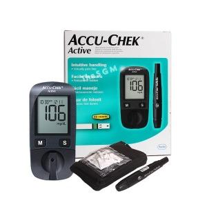 액티브 혈당계 세트 (측정지10매+파우치+채혈기+침10)
