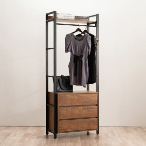 모더니크 시스템 옷장 드레스룸 800 3단 서랍형