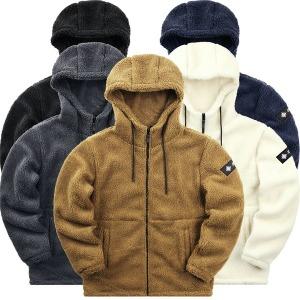 겨울 양털 후드 집업 뽀글이 후리스 플리스 기모 자켓