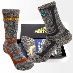 패스톤 등산양말 2족 선물세트 레저 트레킹 양말세트