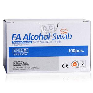 FA 알콜스왑 100매 이소프로판올 알콜솜 이올스왑