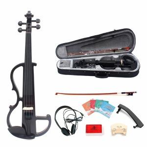 연습용 전자 바이올린 풀세트 입문용 케이스포함
