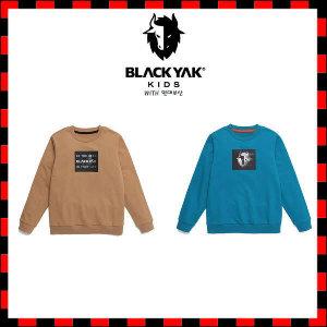 (현대백화점)블랙야크키즈 BK렌티맨투맨티셔츠 아동라운드티셔츠 1BKTSF0904