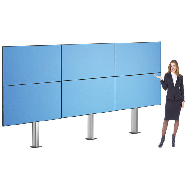 HD-6256MB 대형 TV 6대 앙카고정식 스탠드 65인치 지원