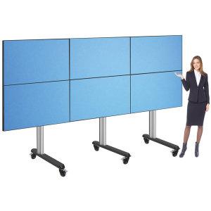 HD-6256MW 대형 TV 6대 이동식 스탠드 65인치 지원