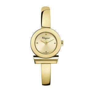 페라가모(시계)  페라가모 간치니 골드 브레이슬릿 메탈 시계 FQ5100017