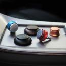 카보노 차량용 방향제 송풍구형 매트블랙x매트블랙
