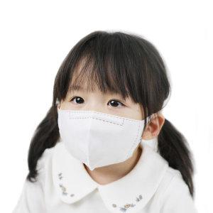 우리가족KF80 초소형 소형 아기와나 마스크 유아 100매