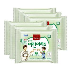 상하 유기농 어린이치즈 3단계 18g x 60매 /상하치즈