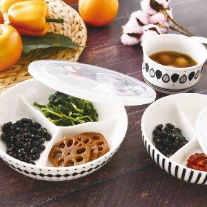도자기 세트 반찬통 밀폐 그릇 나눔 접시 대 1+1/XL1P
